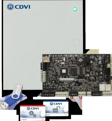 Centrale Ibrida controllo accessi A22 ATRIUM web Server