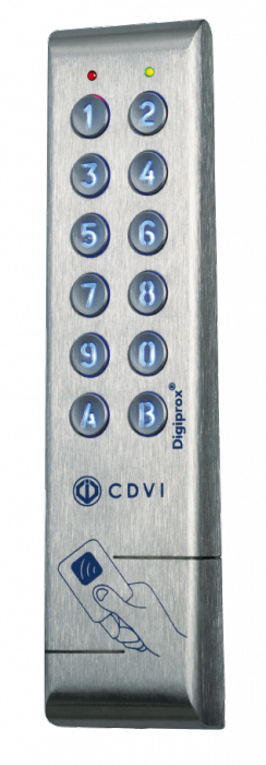 Lettore di Prossimità Antivandalo Doppia Tecnologia Controllo Accessi protocollo wiegand