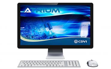 Software Gestionale Controllo Accessi ATRIUM Web Base CDVI Italia. Unico nel suo genere in grado di soddisfare qualunque tipologia d'impianto.