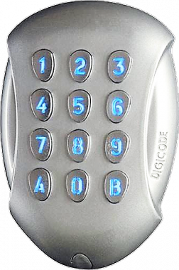 Tastiera Antivandalo Protocollo Wiegand Controllo Accessi GALEO-W