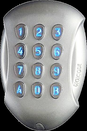 Sistemi di controllo accessi a codice, tastiera antivandalo. Protocollo di comunicazione Wiegand