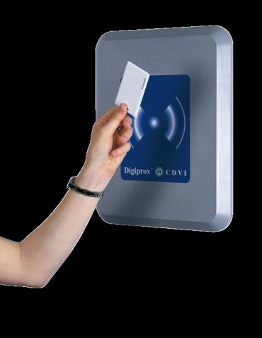 Lettore di Prossimità Antivandalo Controllo Accessi DGLP60-WLC, CDVI Italia. interfacciabile con qualunque apparecchioatura con protocollo wiegand.