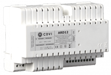 AALIMENTATORE 12V Lineare/Switching per lettori di prossimità, Tastiere antivandalo, Elettroserrature e fermi elettromagnetici