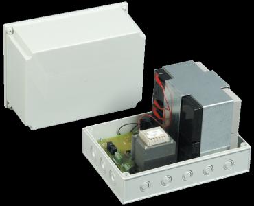 ALIMENTATORE 24V con Batteria BS24 24Vdc/1,0A stabilizzato