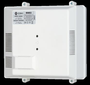ALIMENTATORE con batteria tampone 12Vdc/2,5A per controllo accessi