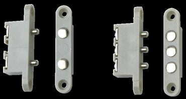 Contatti Porta Tensione C2P-C3P a 2 e 3 contatti per alimentazione elettroserrature