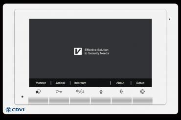 Videocitofono a colori con integrato sistema di controllo accessi
