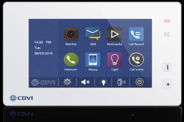 Videocitofono Digitale monofamiliare con integrato controllo accessi