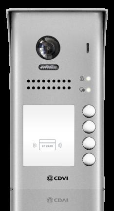 Videocitofono con lettore badge Digitale