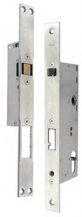 Elettroserratura DX25/DX35/DX50/DX60 con quadro maniglia