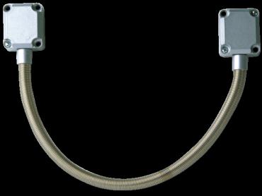 Guaina metallica di protezione cavi GF45-FLEX-DL per controllo accessi e antintrusione