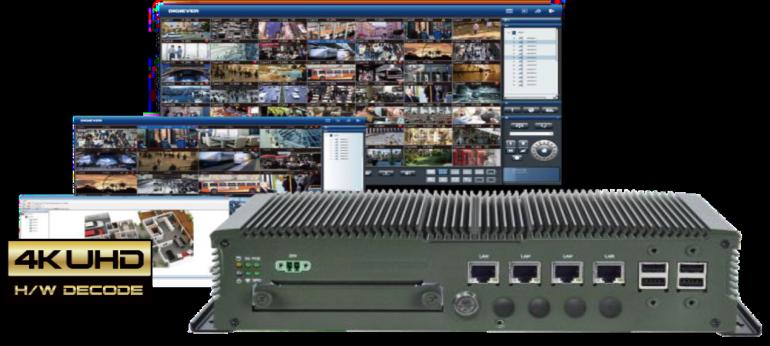 Digiever NVR mobile per il controllo e registrazione immagini e video su automezzi