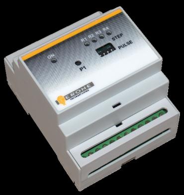 Controllo Accessi Ricevitore Radio DIN-RAIL