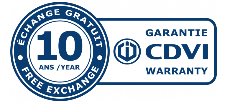 Garanzia prodotti CDVI controllo accessi e serrature elettroniche, garantiamo per 10 anni tutti i nostri prodotti con sostituzione gratis