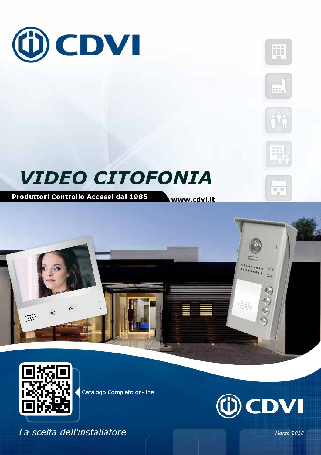 Depliant Video Citofonia Digitale Marzo 2018