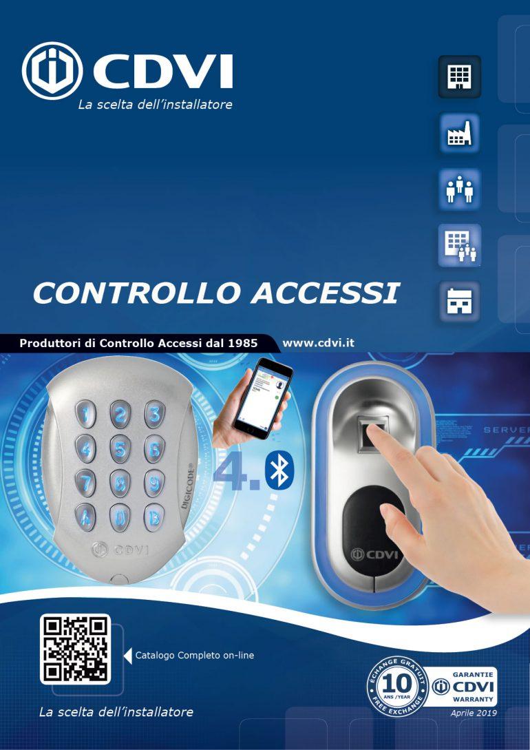 Nuovo Catalogo Controllo Accessi Aprile 2019